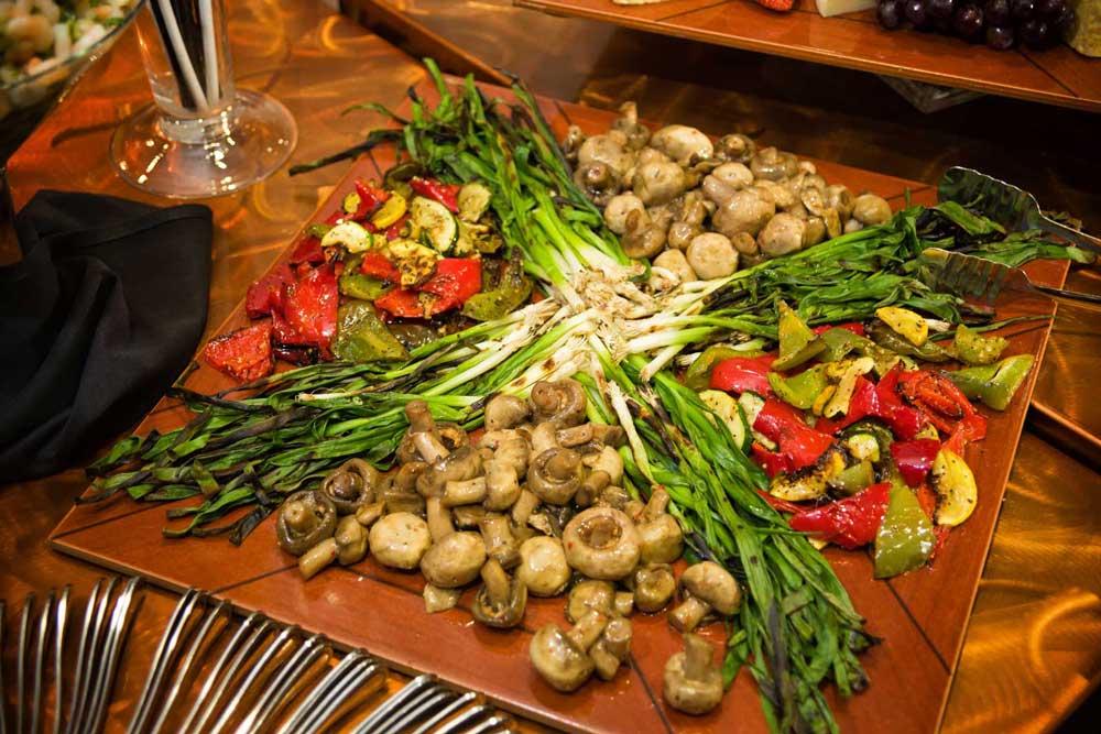 Enjoy fabulous Appetizers at the Red Oak Ballroom