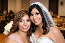 Mother and Daughter, Wedding at the Red Oak Ballroom in Houston, CityCentre