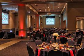 Holiday Party Luncheon at the Red Oak Ballroom in Fort Worth, Sundance Square