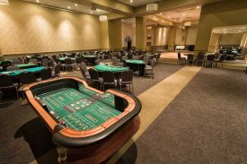 Casino Service available at the Red Oak Ballroom for your next Holiday Party
