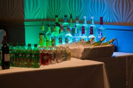Full Bar Service is available at the Red Oak Ballroom in Fort Worth, Sundance Square