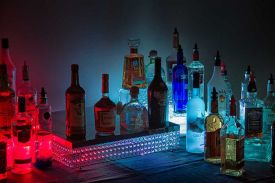 Custom, colorful hosted bar service available at the Red Oak Ballroom