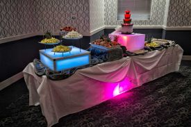 For your Special Celebration offer a Chocolate Fountain Display to your guests at the Red Oak Ballroom