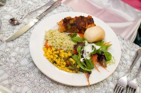 Delicious food for your Special Celebration at the Red Oak Ballroom