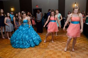 Sweet 16 Special Celebration dancing at the Red Oak Ballroom